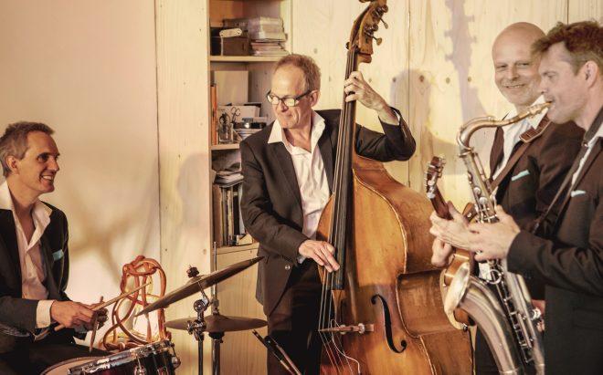 Jazzband voor congres en receptie
